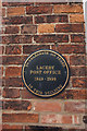 TA2106 : Laceby post office plaque by Ian S