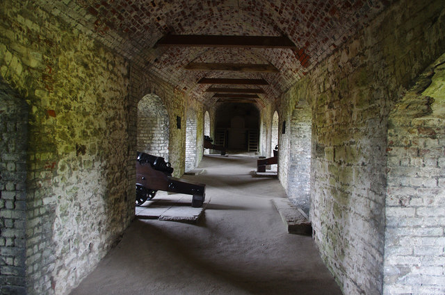 Caponier, Dover Castle