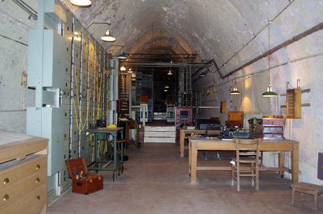 WW2 tunnel, Dover Castle