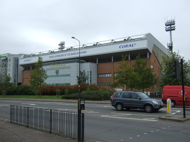 Barclay Stand, Carrow Road Football Stadium