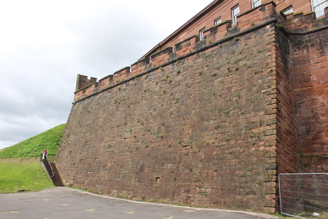 The South Ramparts of Chester Castle