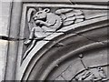 SO8932 : Detail in the door frame of Cross House by Philip Halling