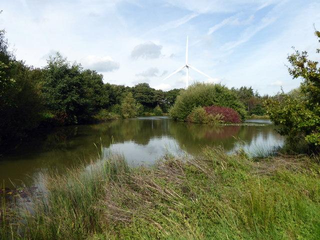 Lake at Sharnfold Farm
