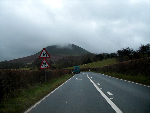 On the A479 road between Talgarth and Crickowel