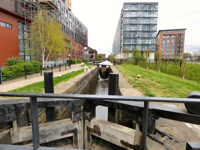 Ashton Canal Lock #3