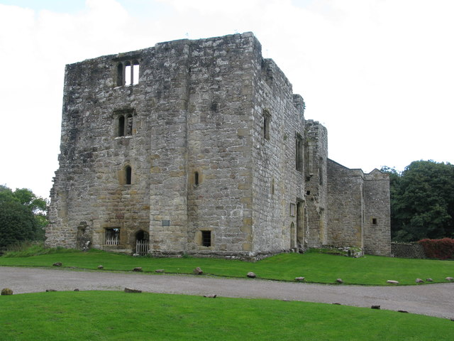 Barden Tower, north of Bolton Abbey