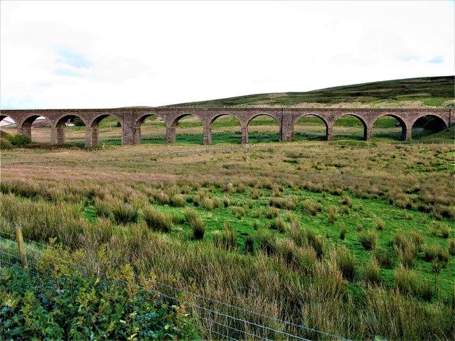 Dandrymire Viaduct (Moorcock Viaduct), Garsdale