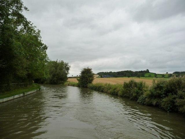 Farmland west of Theddingworth Lodge