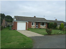 TG3204 : Bungalow on The Street, Rockland St Mary by JThomas