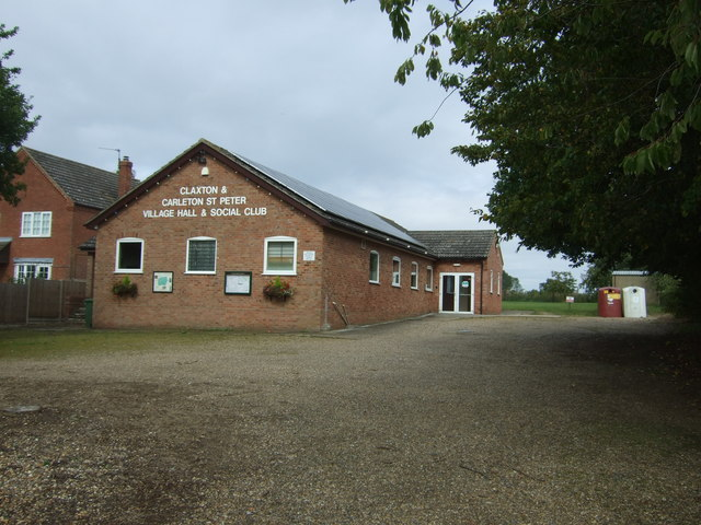 Claxton and Carleton St Peter Village Hall