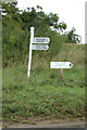 TF7715 : Signpost on the B1153 by Adrian Cable