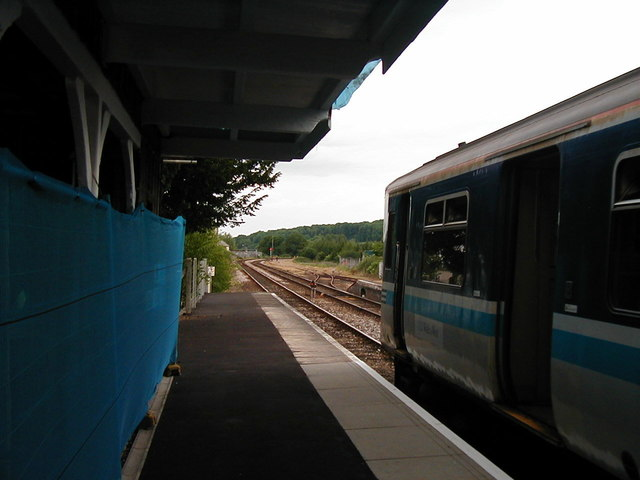 Waiting at Crediton