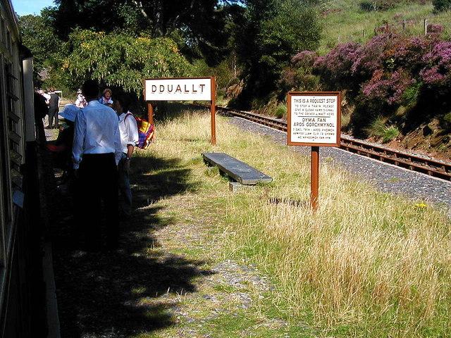 A halt at Dduallt