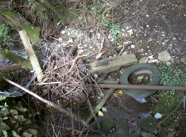 Stream near Queen Charlton