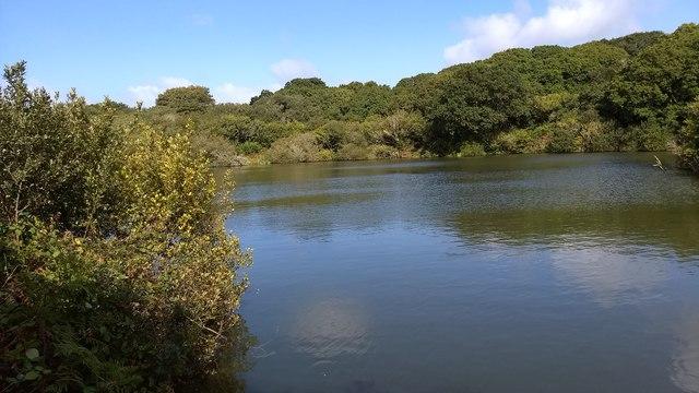 The fishing lake