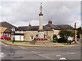 SP9074 : Burton Latimer War Memorial by David Dixon