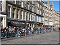 NT2573 : Spectators for the Riding of the Marches, High Street Edinburgh by David Hawgood