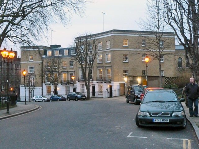 Block on Percy Circus, WC1