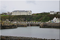 NW9954 : Portpatrick by Anne Burgess