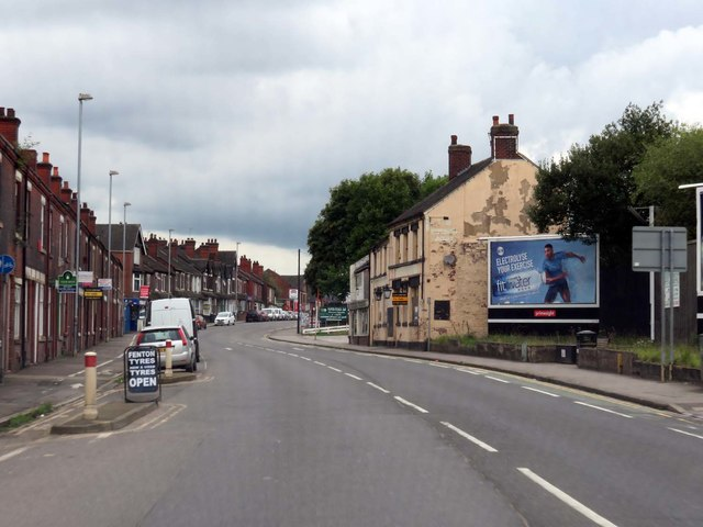 King Street in Fenton