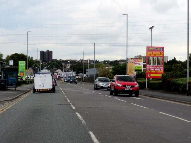 Victoria Road in Hanley