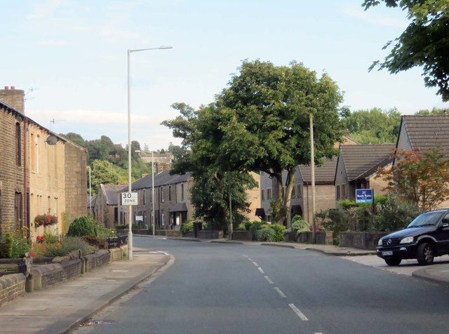 Cotton Tree Lane in Colne