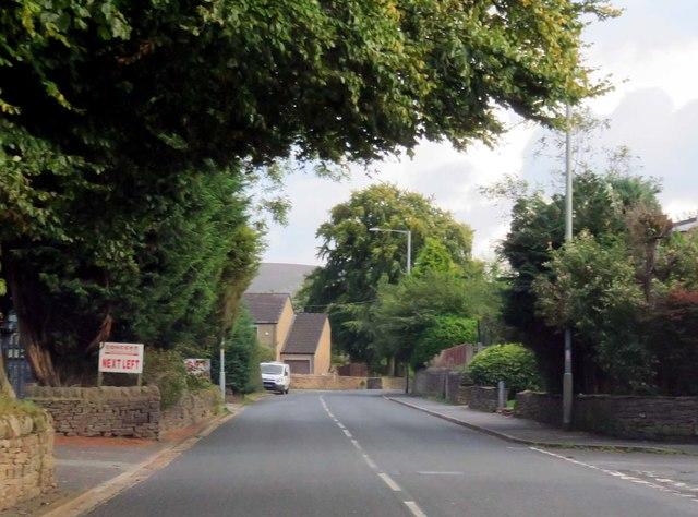 Skipton Road in Trawden