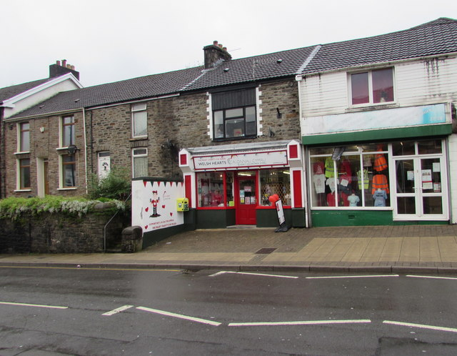 Welsh Hearts shop, De Winton Street, Tonypandy