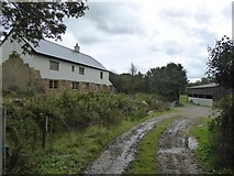 SS5401 : New farmhouse at Medland  by David Smith