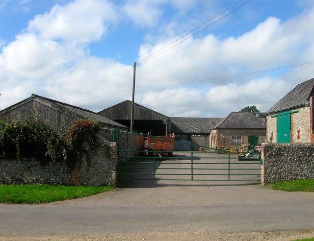 Outbuildings, Priorslease Farm, Dover Lane