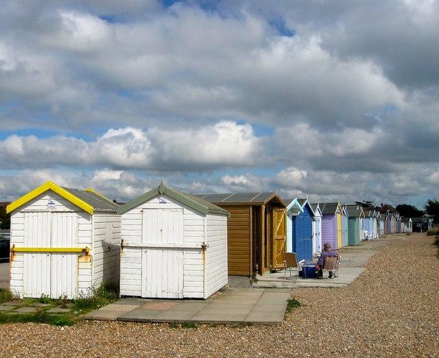 Beach Huts, Ferring Beach
