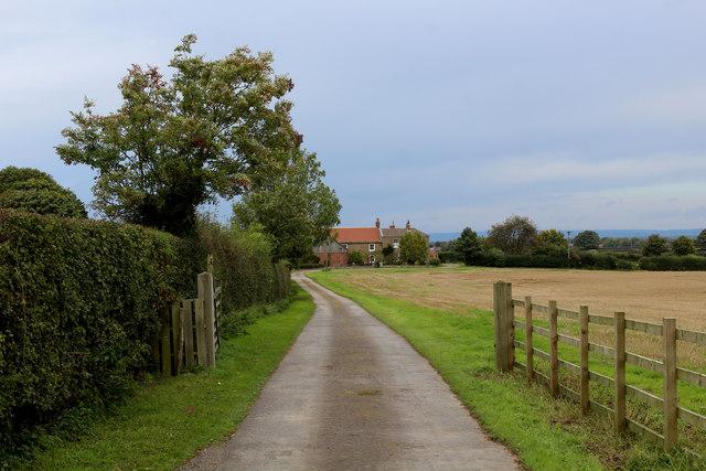 Access to West Grange Farm