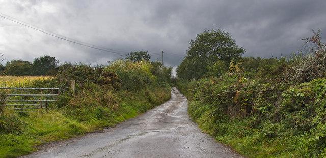 Sandy Lane, a public bridleway
