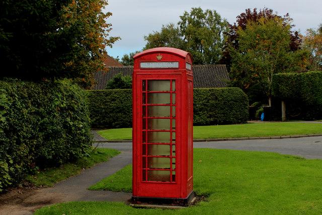 Telephone Kiosk, Bilton-in-Ainsty