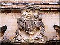 SK4770 : Coat of Arms at Bolsover Castle by David Dixon