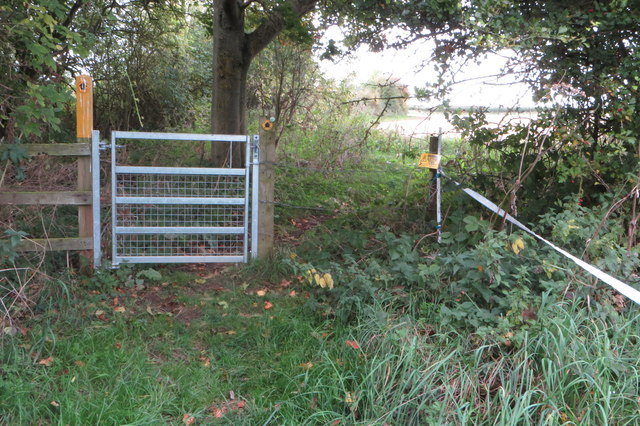Gate on the Milton Keynes Boundary Walk