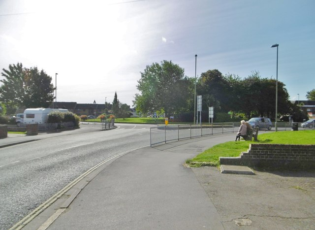 Portchester, roundabout