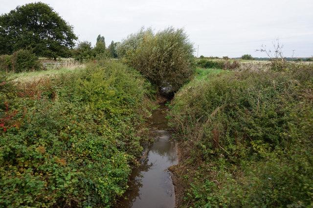 North Beck Drain near Mauxhall Farm