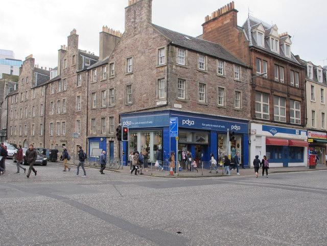 PDSA Nicolson Street, Edinburgh
