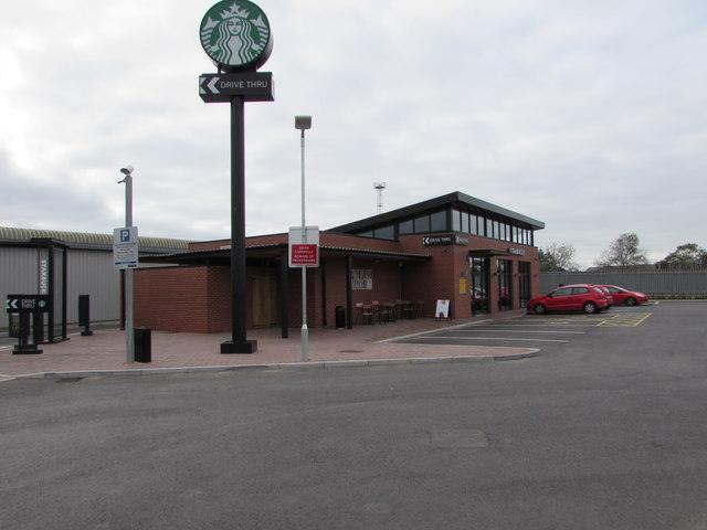 Starbucks near Crewe railway station