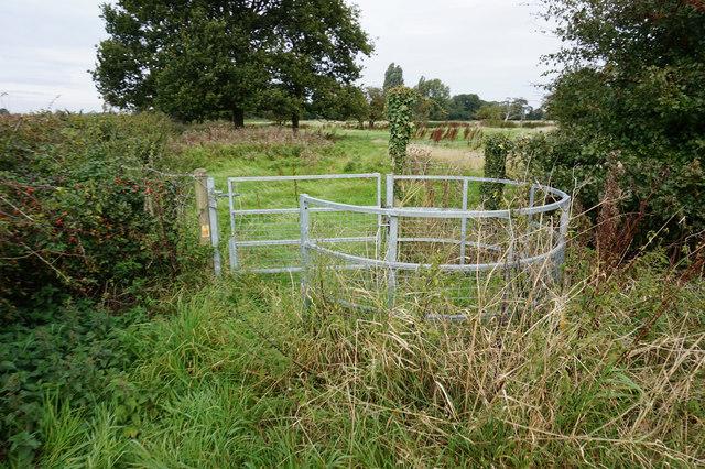 Stile near Mauxhall Farm