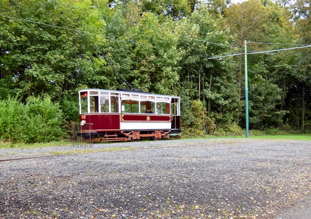 Tram 96 at Heaton Park