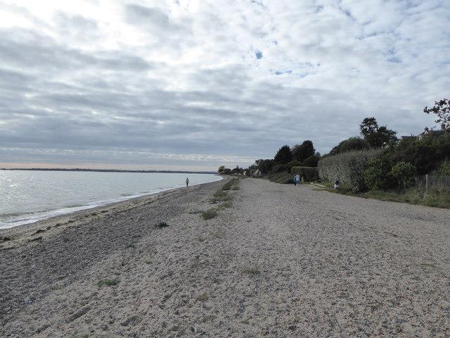 The beach, West Mersea