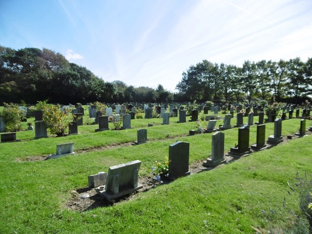 Portchester, cemetery