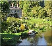 SE7365 : River Derwent at Kirkham by Paul Harrop