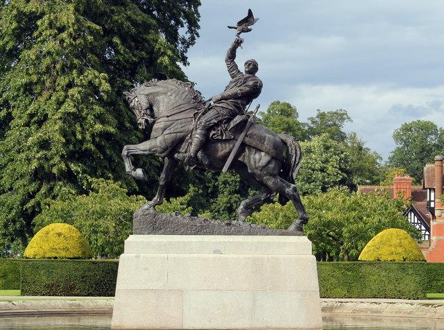 Bronze Equestrian Statue of Hugh Lupus, 1st Earl of Chester