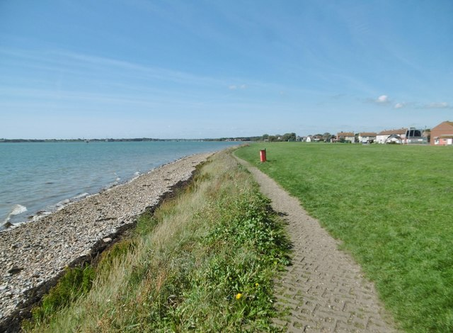 Portchester, path