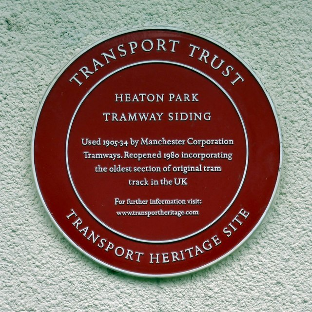 Transport Heritage site plaque