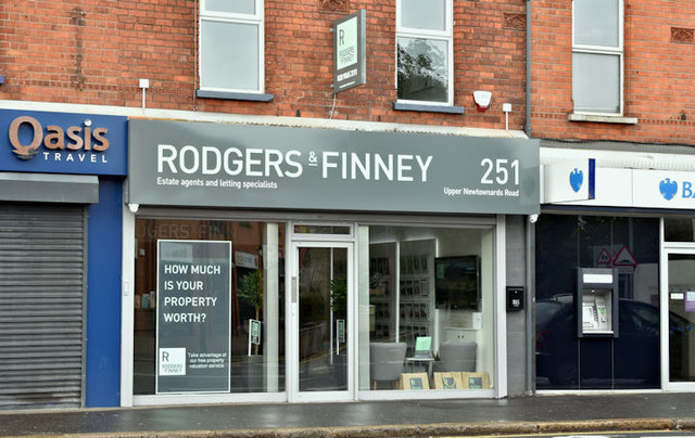 Rodgers & Finney, Ballyhackamore, Belfast (September 2017)
