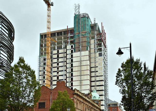 Windsor House redevelopment, Belfast - September 2017(8)